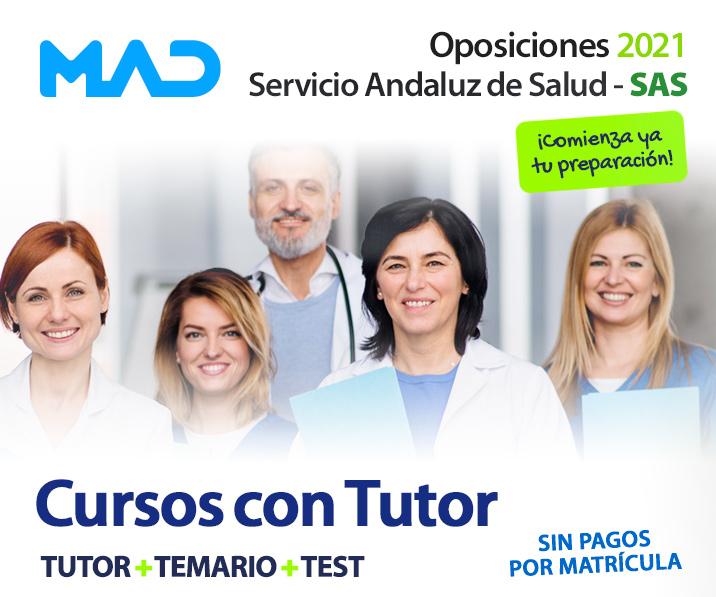 Cursos con Tutor - Oposiciones SAS 2021